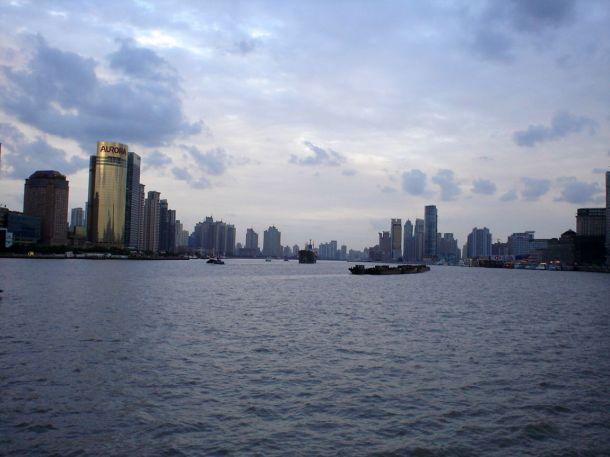 Шанхай. Набережная - Днем - Южная часть города. Китай