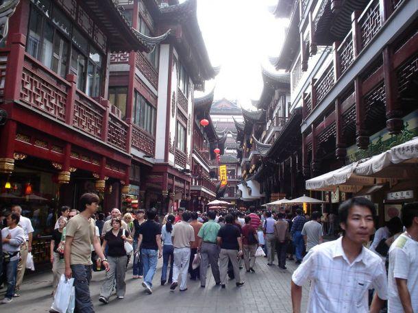 Шанхай. Старый город.